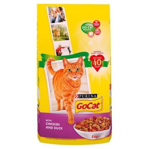 Go Cat Complete Vitality Plus Chicken & Duck 2kg